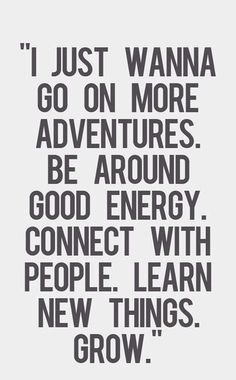 All I know is never want to stop learning and I want to be surrounded by people that light me up. >> Couldn't agree more!!