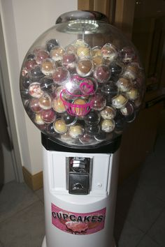 Giant Cupcake Dispenser - the perfect to go treat for a Bat Mitzvah The Event Of A Lifetime, Inc.