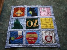 Wizard of OZ Quilt by blondeheroine | Flickr - Photo Sharing!
