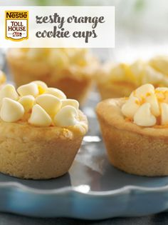 Awaken your senses with these delightful Zesty Orange Cookie Cups treats. A buttery shortbread cookie cup is filled to the top with a creamy citrus filling,. Cookie Cups, Cookie Desserts, Cookie Recipes, Dessert Recipes, Easter Recipes, Easter Food, Mini Desserts, Party Recipes, Baking Recipes
