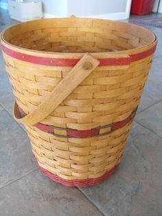 Longaberger Christmas Basket.140 Best Longaberger Retired Baskets Images In 2019 Basket