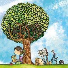Imágenes que pretenden animar a las personas a leer. ¡Hagamos que este 23 de abril (Día del libro) no sea una excusa para leer!