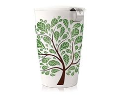 Tea Forte KATI Cup Green Leaves * To view further for this item, visit the image link.