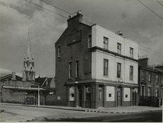 Queen Elizabeth, 9 Graham Road, Dalston, Hackney - in 1942 Old Street, London History, Hackney, East End London, Historical London, Old London, London, Southwark, Road