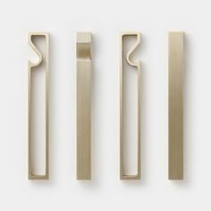 Futagami Brass Bottle Opener - Waku (Frame) — Ode to Things