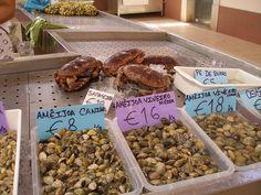 Seafood, Ameijoa, Ostras, Loule Fish Market, Loule, Algarve, Portugal by jsandberg307, via Flickr