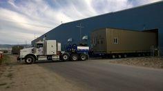 Der Faymonville HighwayMAX ist ein ausziehbarer Schwerlastauflieger für Sondertransporte in Amerika und in Kanada. #schwertransport in Amerika #awesome