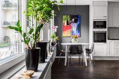 Kitchen interior design. Photography by David Jansson.