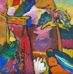 Wassily Kandinsky, Study for Improvisation V,  1910