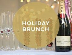 30 Days of Holiday Party Ideas featuring Holiday Brunch Invitations #holiday #christmas #brunch #party