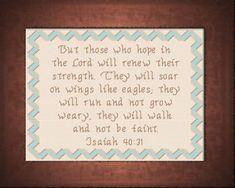 Wings Like Eagles - Isaiah 40:31
