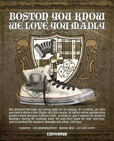 Limited Edition Dropkick Murphys All-Star Shoe