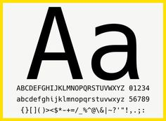 As much as choice of a font is subjective there are important criteria to consider when choosing a programming font. The characters should be clear, easy to read, in cases of clashing ones such as 1, l, i or O, o, 0 easily distinguishable, differences between different kinds of brackets, quotes and parentheses should be clear, punctuation should be emphasized and they shouldn't break up words or sentences due to uneven character widths.  There are two ways fonts are drawn - as bitmap...