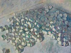 Derek Buckner's pile o' marshmallows