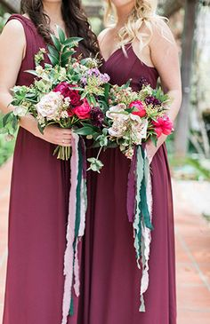 Dramatic Jewel Tone Wedding Inspiration - Inspired By This