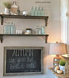 Happy Friday!!      Iam guest posting over on the Tuesday Morning Blog today and am excited to share my fall kitchen tour with you...