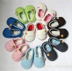 Lovely Cute Handmade Crochet Shoes Newborn Baby Photograph Boy Girl New 8 Colors
