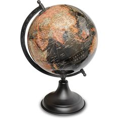 14 malachite gemstone globe with 3 leg gold stand be sure to amazon world globe map 8 inch desktop atlas classic vintage 45 liked on polyvore featuring home home decor worldglobe map globe gumiabroncs Choice Image