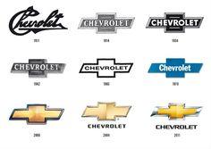 Chevrolet Logo through the years...