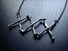 Black+Plague+Necklace+by+charlotteburkhart+on+Etsy,+$240.00