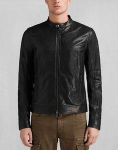Gransden Jacket - Black Leather Jackets