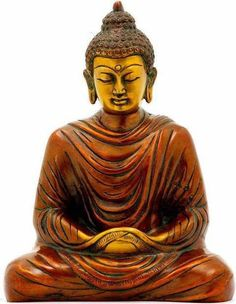 "Buddha ~ ""I am determined to practice deep listening. I am determined to practice loving speech. Buddha Idol, Art Buddha, Buddha Zen, Gautama Buddha, Buddha Buddhism, Buddhist Art, Buddha Statues, Thich Nhat Hanh, Qigong"
