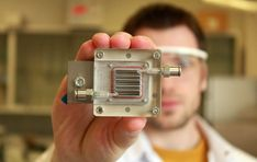 A small innovation could have a big impact on air pollution. In Belgium, researchers have engineered a device that uses sunlight to purify polluted air and produce hydrogen gas that can be stored and used for power. Hydrogen Fuel, Solar Panels For Home, Nanotechnology, Air Pollution, Alternative Energy, Renewable Energy, A Team, Transformers, Audi