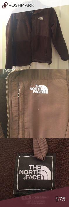 Brown north face women's small Denali  jacket Brown north face women's Denali jacket in great condition! The North Face Jackets & Coats