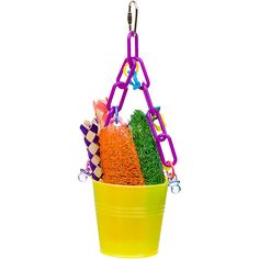 Super Bird Creations Foraging Pail Bird Toy