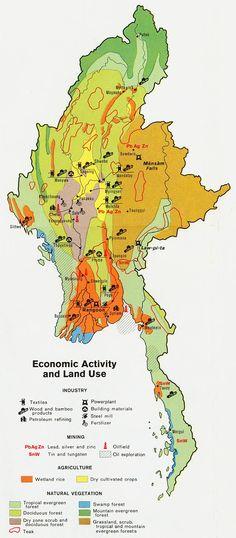 Burma Land Use Map