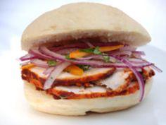 Butifarra Sandwich - Peruvian Butifarra Pork Sandwich: Butifarra