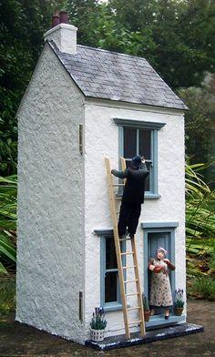 Cosy cottage. Julie's dolls house blog