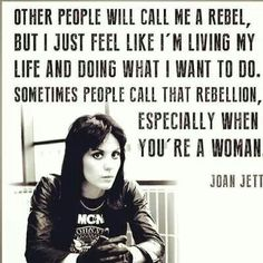 sometimes people call that a rebel :)