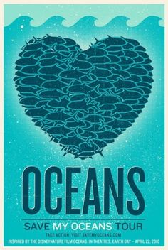 save the oceans - you know you want to!