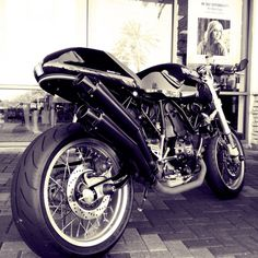 Is it weird that I really want a ridiculously good looking motorcycle? To actually ride?