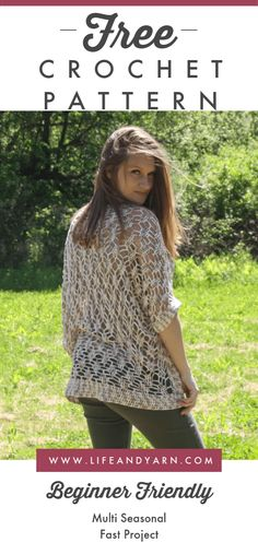 crochet Free Crochet Cocoon Pattern - Celia - Life and Yarn Sealing Natural Stone Article Body: The Crochet Shirt, Crochet Cardigan, Crochet Yarn, Free Crochet, Knit Crochet, Crochet Mitts, Crochet Style, Crochet Sweaters, Tunisian Crochet