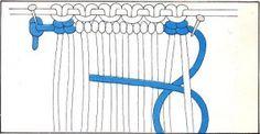 Macramé - Arte de hacer nudos: Pulseras Cavándoli