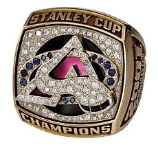 Colorado Avalanche - 2001 Stanley Cup Ring