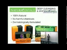 AIM GLOBAL New Product - Naturacentials All Natural Deep Cleansing and Whitening Soap if you are interested with business opportunity and product orders plea. Mediterranean Diet Recipes, Body Detox, Cleanse, Deep, Product Presentation, Videos, Health, Nature, Youtube