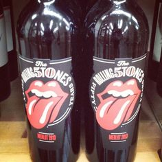 Great example of #wine that people would buy because of what's on the outside... #rockandroll #rollingstones