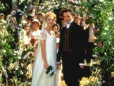 """Emma and Mr. Knightley - from """"Emma"""" - Just finished the book Jane Austin Jane Austen Movies, Emma Jane Austen, Period Piece Movies, Jeremy Northam, Emma Woodhouse, Best Tv Couples, Becoming Jane, Wedding Movies, Bridesmaid Dresses"""
