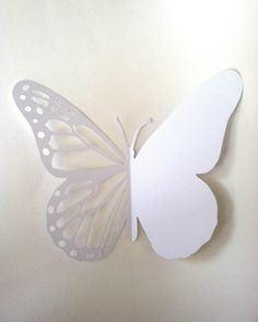 Butterfly Card - Printable Paper cutting Template