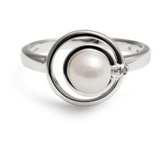 White Gold Pearl Ring Designs by Jersey Pearl – Akoya Pearl Ring « Jewellery « Jewelry Design Images, Photos and Pictures Gallery « Jewellery Gemstones