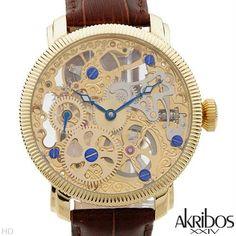 Luxstyle4u - AKRIBOS XXIV AK418YG Brand New Gentlemens Mechanical Watch, $203.00 (http://www.luxstyle4u.com/akribos-xxiv-ak418yg-brand-new-gentlemens-mechanical-watch/)