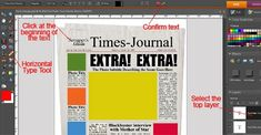 Extra! Extra! Read All About It!! (Photoshop Elements) | Scrapper's Guide