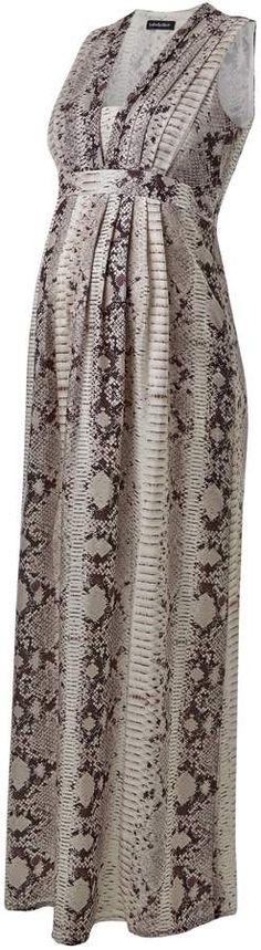 Zahara Silk Maternity Maxi Dress.#ad