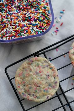 Soft and Chewy Snickerdoodle Sprinkle Cookies - Eats Well With Others