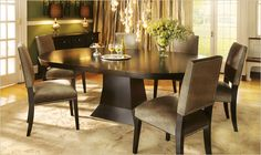 Leighton Mocha Dining Table