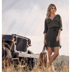 Sahara Sunset New Outfits, Dress Outfits, Summer Outfits, Jean Top, Forever New, Pretty Dresses, Wrap Dress, Glamour, Clothes For Women