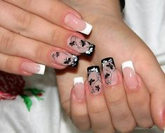 The Best Ideas for the 2018 Manicure for Long Nails J Nails, Blue Nails, Acrylic Nails, Wedding Day Nails, Bridal Nails, Moon Manicure, Nail Manicure, Girls Nails, Cute Nail Designs